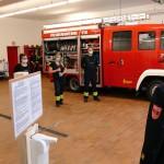 Im Feuerwehrhaus Neuses