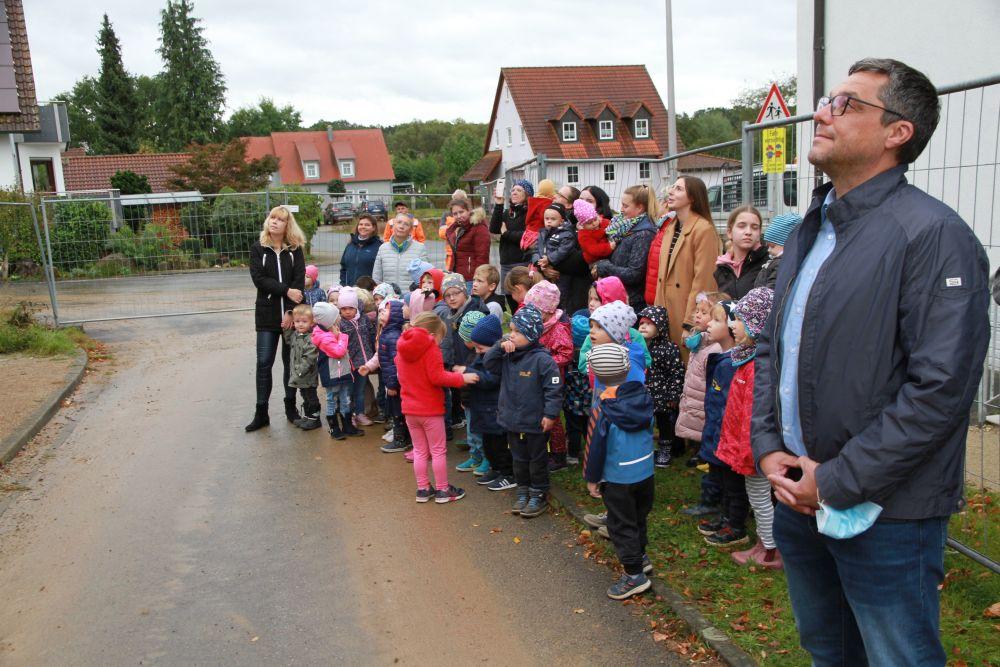 Richtfest beim Kindergartenneubau